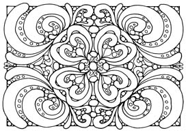 20 Easy Coloring Sheets for Seniors - Healthcare Channel Aged Care   195x275