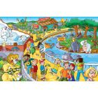 Afternoon at the Zoo 60 Piece Sequenced Puzzle