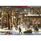 Downtown Christmas Sequenced Jigsaw Puzzle