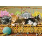 Kittens in Basket Sequenced Jigsaw Puzzle