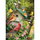 Singing Around the Birdhouse Sequenced Jigsaw Puzzle