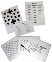 Word Puzzles for Dementia and Alzheimers