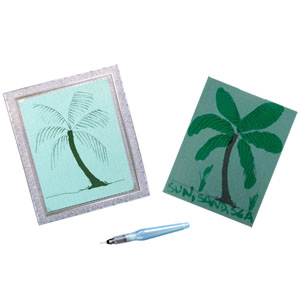 Be creative with the palm image