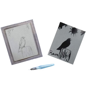 Be creative with the raven image