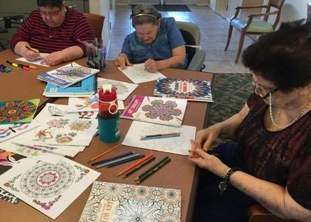Lessons from an Adult Coloring Group for Dementia