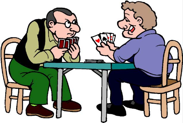 Playing card dementia activity