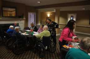 Applying Montessori for Dementia to Group Activities