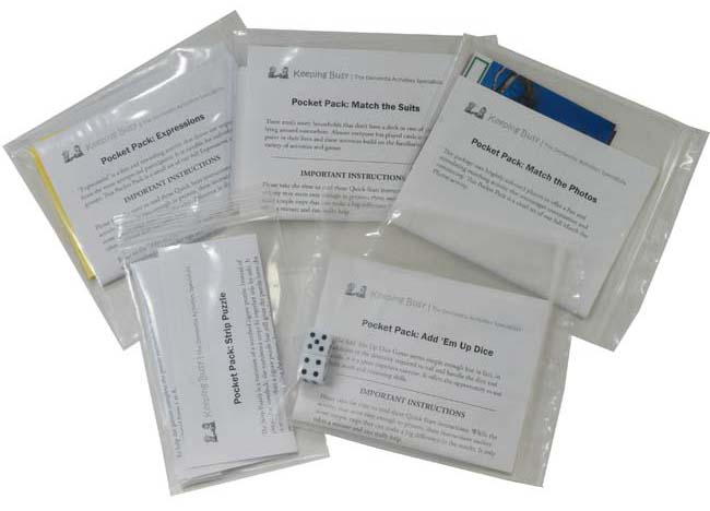 Pocket Pack dementia activity